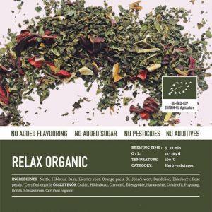 Relax Organic (Bio) tea